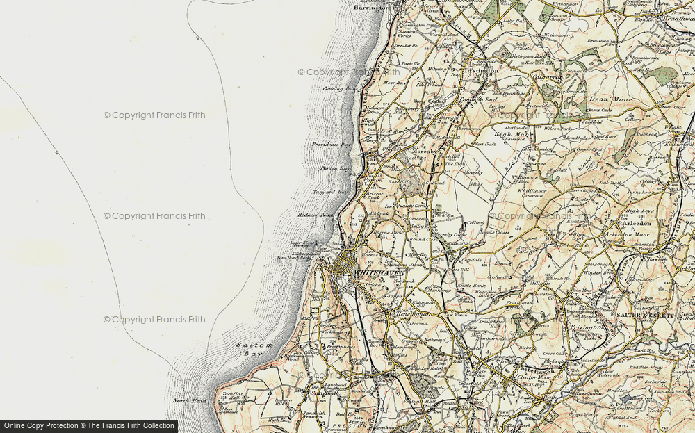 Old Map of Bransty, 1901-1904 in 1901-1904