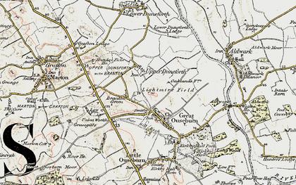 Old map of Lightmire Field in 1903-1904