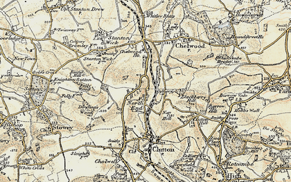 Old map of Breach in 1899