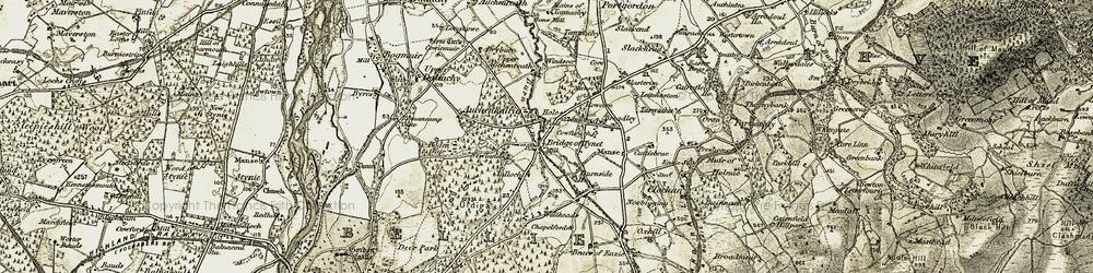 Old map of Windsoer in 1910