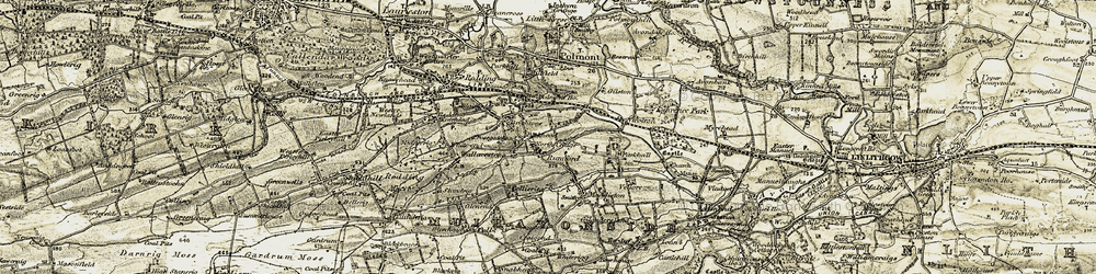 Old map of Brightons in 1904-1906