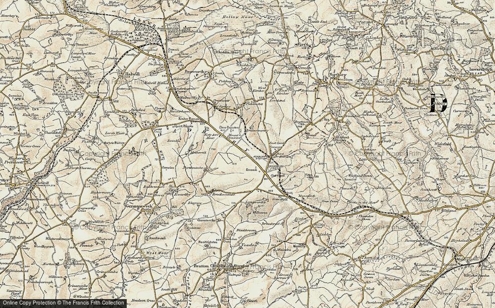 Broadbury, 1900