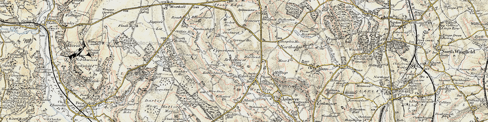 Old map of Alicehead in 1902-1903