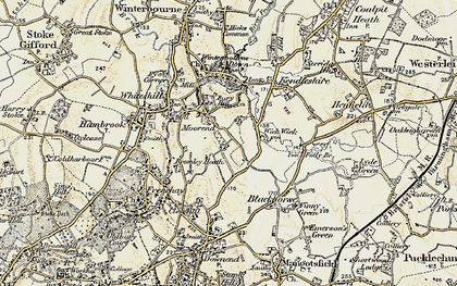 Old map of Bromley Heath in 1899