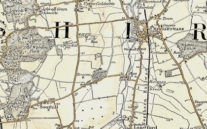 Old map of Broom in 1898-1901