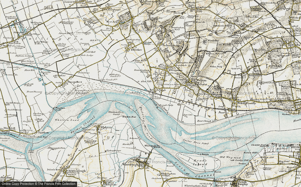 Old Map of Brough, 1903-1908 in 1903-1908