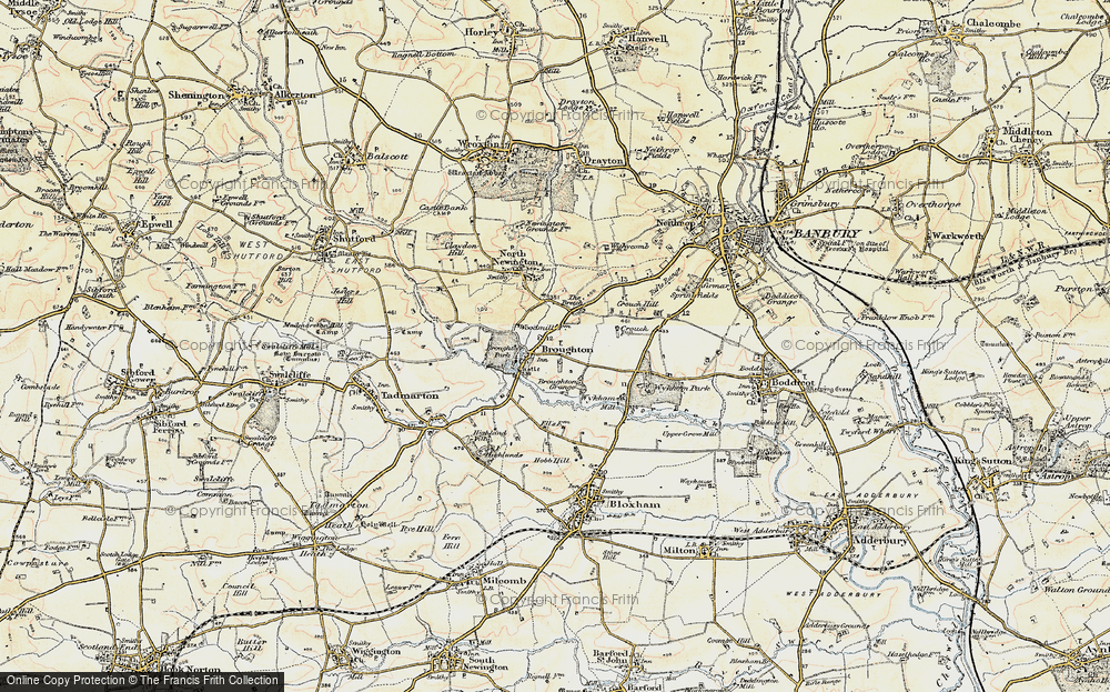 Old Map of Broughton, 1898-1901 in 1898-1901