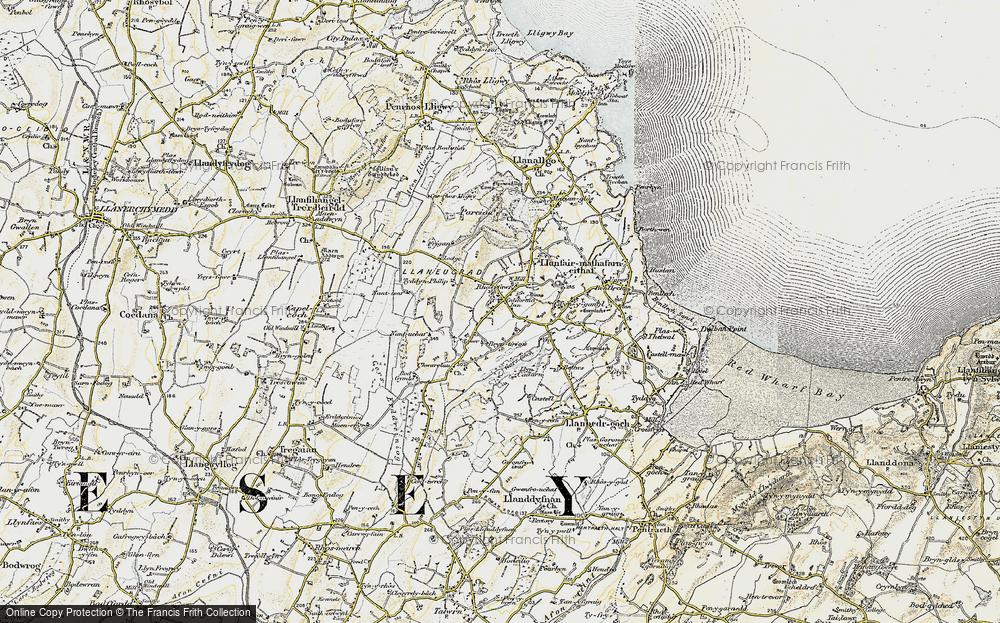 Old Map of Brynteg, 1903-1910 in 1903-1910