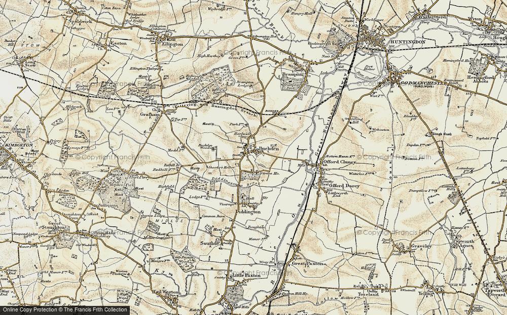 Buckden, 1901