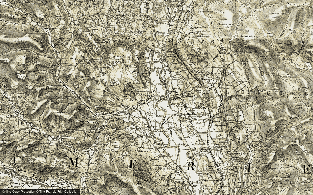 Old Map of Burnhead, 1904-1905 in 1904-1905