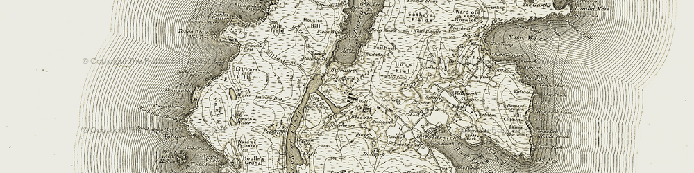 Old map of Libbers Hill in 1912