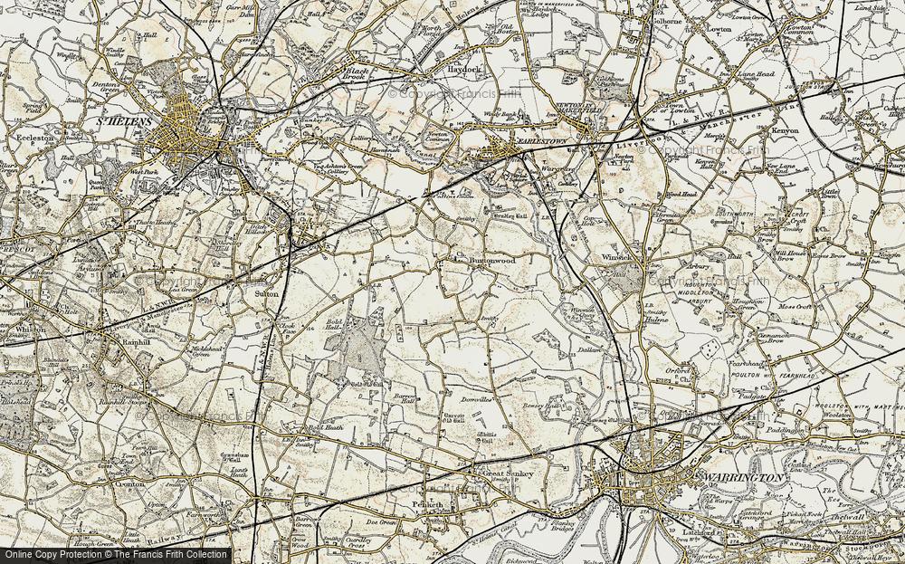 Burtonwood, 1903