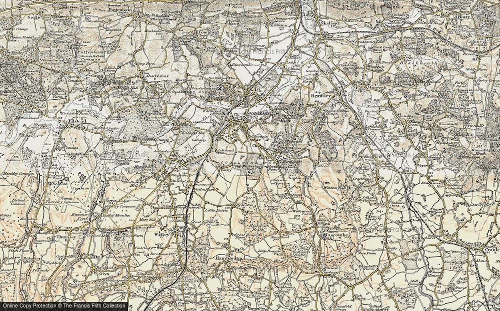 Old Map of Busbridge, 1897-1909 in 1897-1909