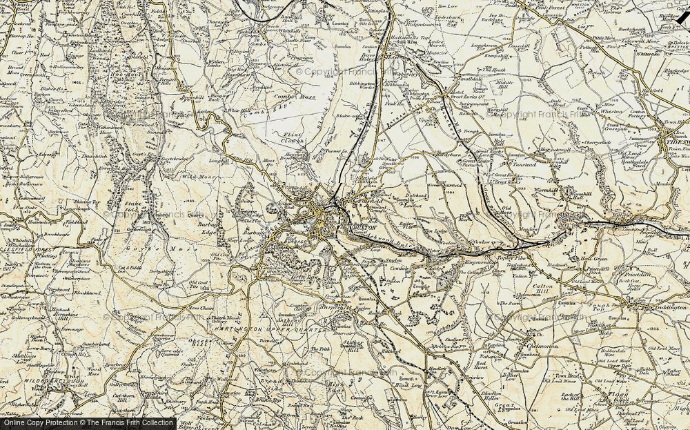 Map Of Buxton Map of Buxton, 1902 1903   Francis Frith