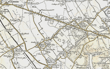 Old map of Bye Green in 1898