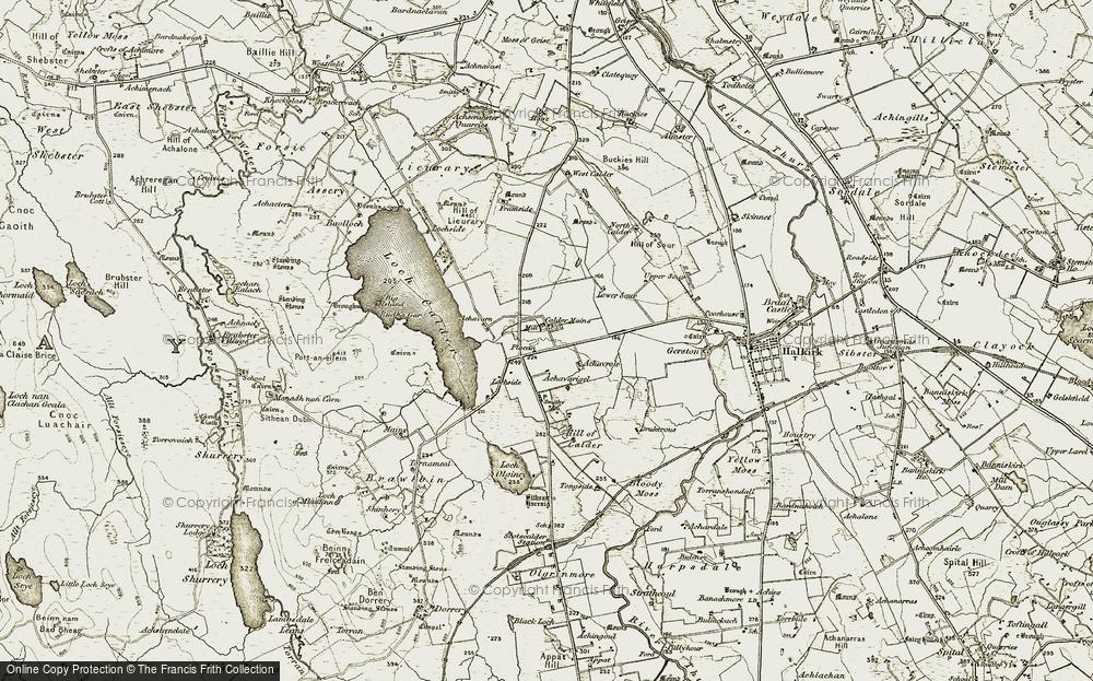 Calder Mains, 1911-1912