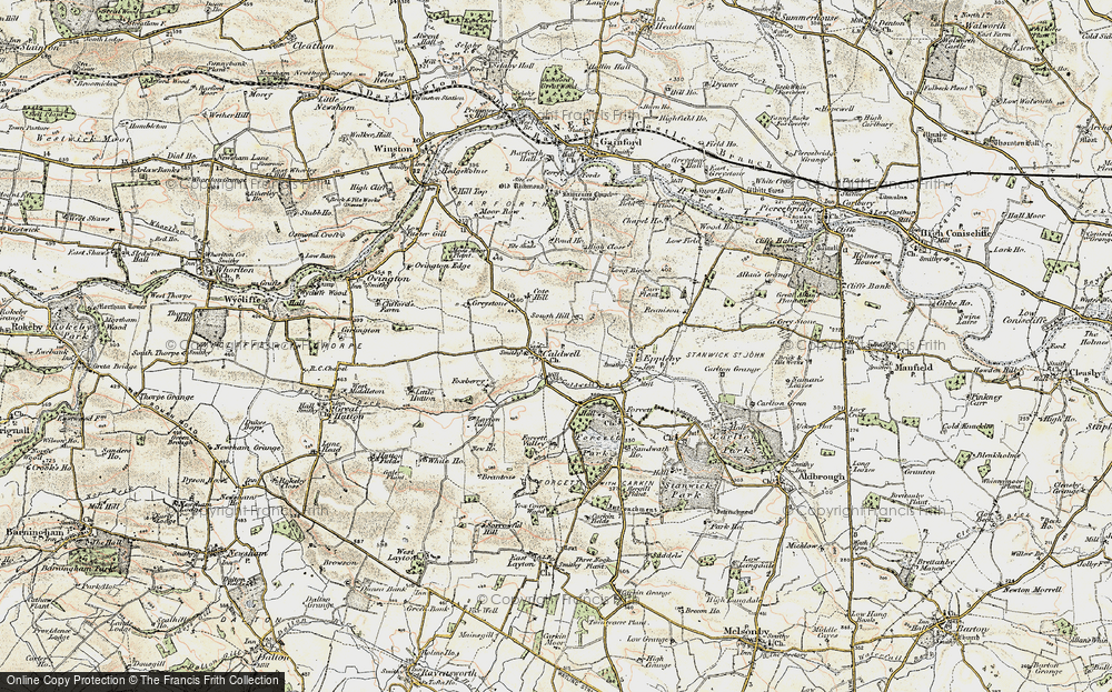Old Map of Caldwell, 1903-1904 in 1903-1904