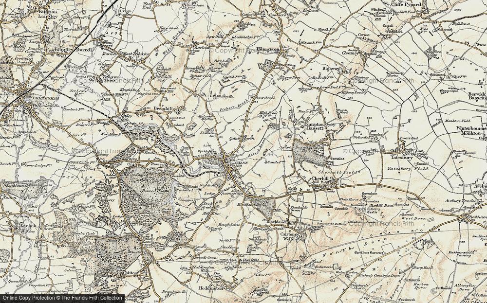 Calne Marsh, 1899