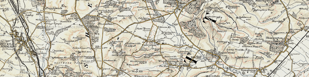 Old map of Abbey House in 1902