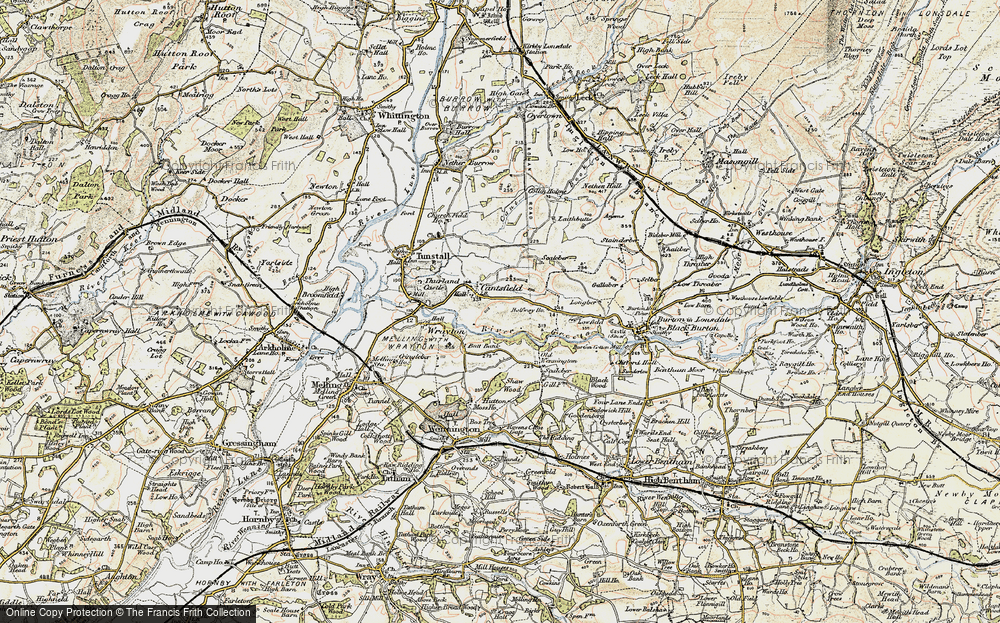 Old Map of Cantsfield, 1903-1904 in 1903-1904