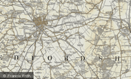 Map of Cardington, 1898-1901