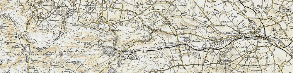 Old map of Tinker Hill in 1903
