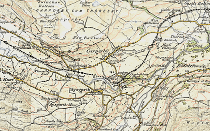 Old map of Ballowfield in 1903-1904