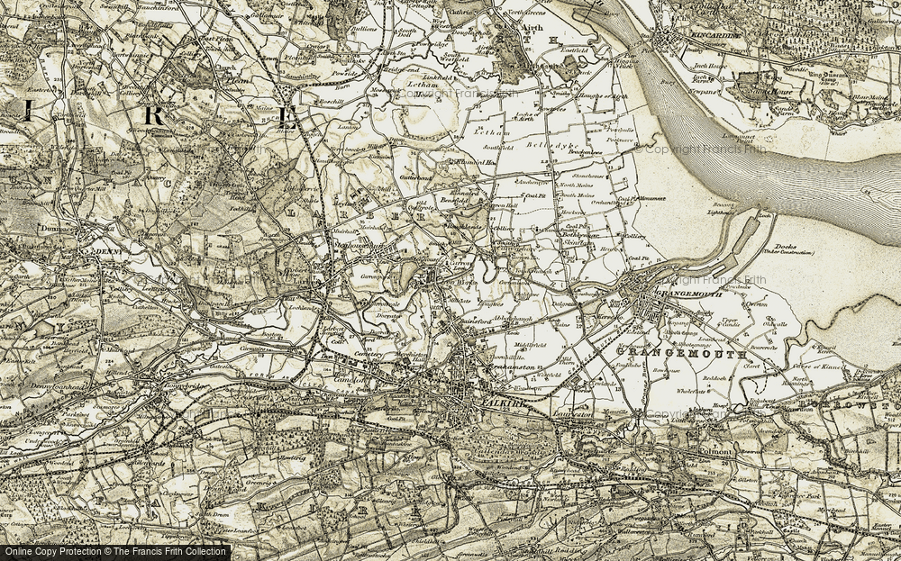 Old Map of Carron, 1904-1907 in 1904-1907