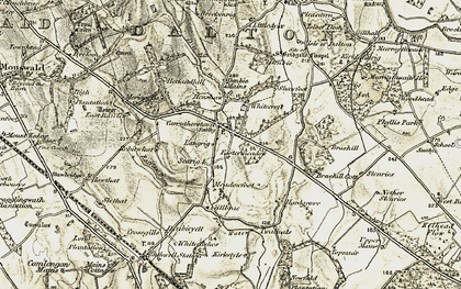Old map of Whitecroft in 1901-1904