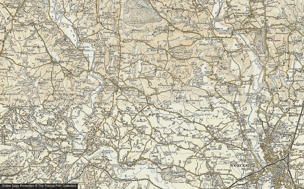 Old Maps of Castle Hill Francis Frith
