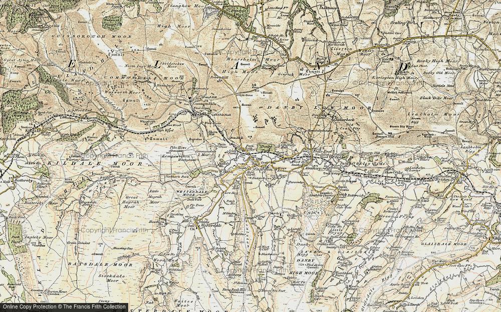 Old Map of Castleton, 1903-1904 in 1903-1904