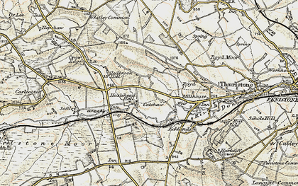 Old map of Catshaw in 1903