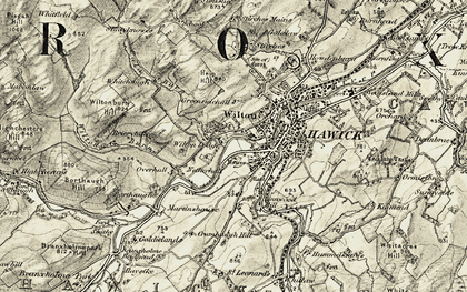 Old map of Wilton Dean in 1901-1904