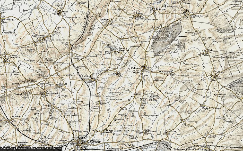 Chadwell, 1901-1903