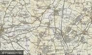 Map of Chalton, 1898-1901