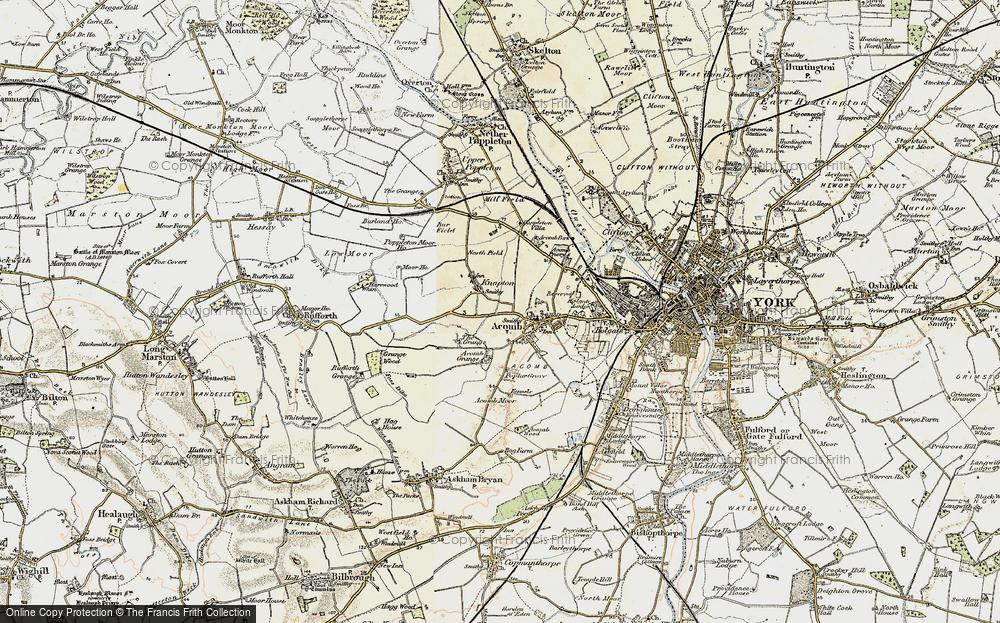Old Map of Chapel Fields, 1903 in 1903