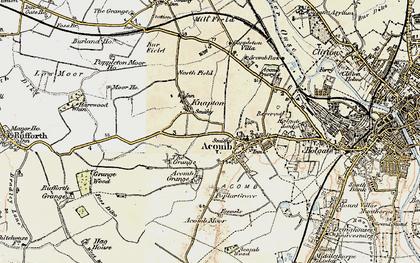 Old map of Chapel Fields in 1903