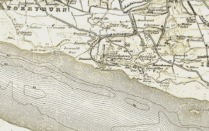 Old map of Aberlyn in 1904-1906