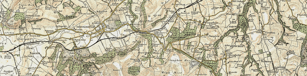 Old map of Westworth Wood in 1903-1904