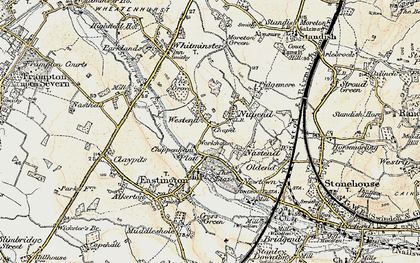 Old map of Chipmans Platt in 1898-1900