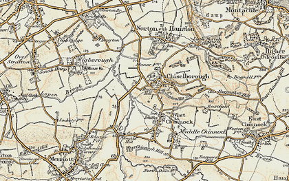 Old map of Balham Hill in 1898-1900