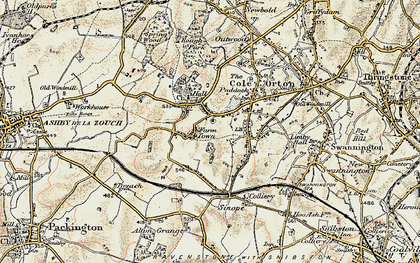 Old map of Alton Hill in 1902-1903