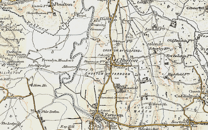 Old map of Almere in 1902-1903