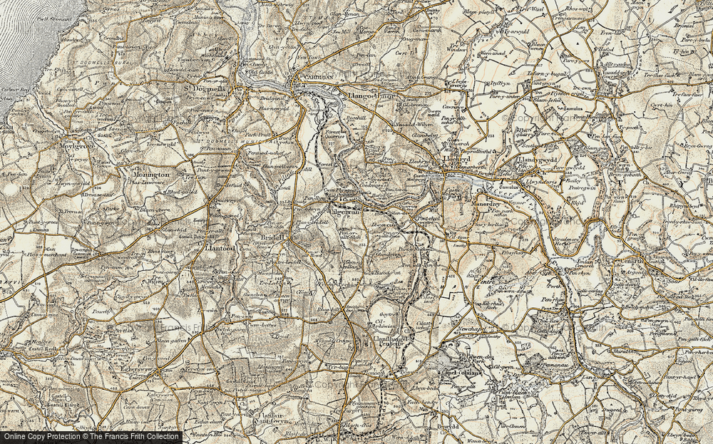 Cilgerran, 1901