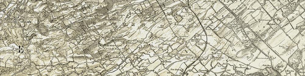 Old map of Alerigg in 1901-1904