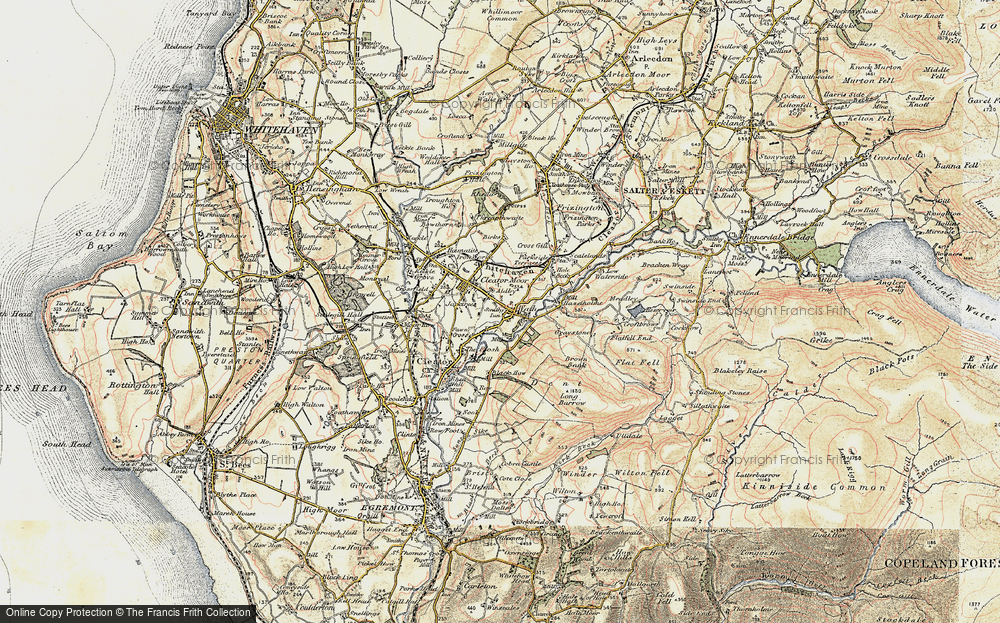 Old Map of Cleator Moor, 1901-1904 in 1901-1904