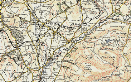 Old map of Cleator Moor in 1901-1904