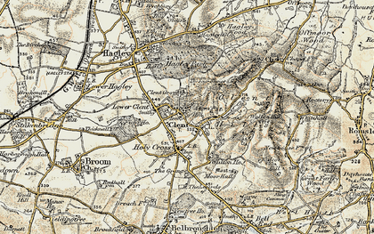 Old map of Adam's Hill in 1901-1902