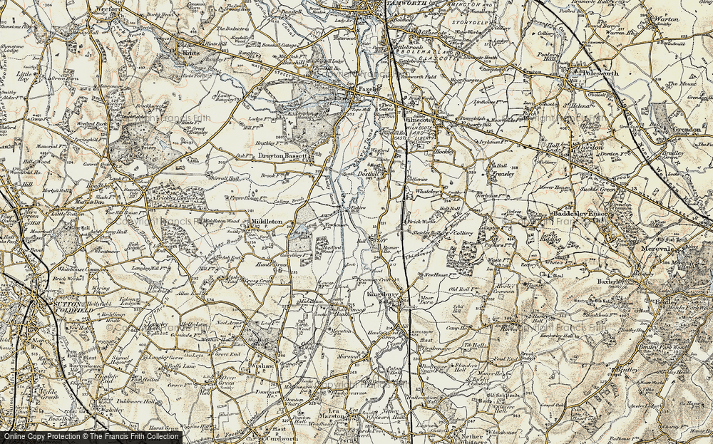 Old Map of Cliff, 1901-1902 in 1901-1902