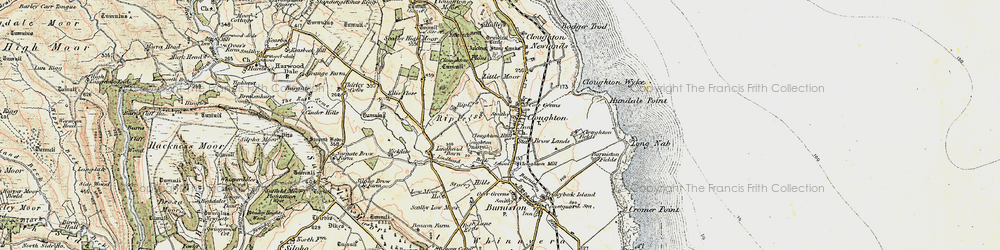 Old map of Lindhead Gorse in 1903-1904